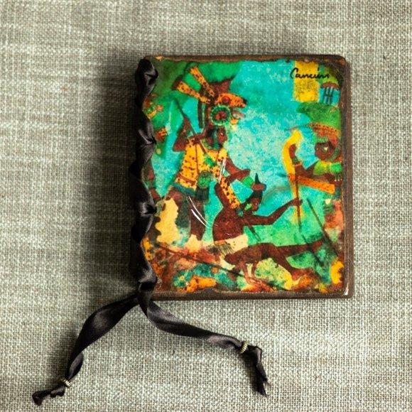 "Handmade Blank Journal from Cancun - 4"" x 5"""